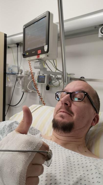 Männergrippe Krankenhaus